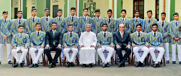 St. Anne's College team for Battle of the Rocks - 2016 Edition